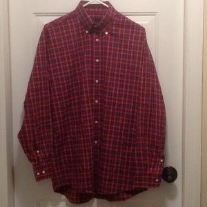 Jos. A. Bank Shirts - Jos. A. Bank plaid button down long sleeve shirt.
